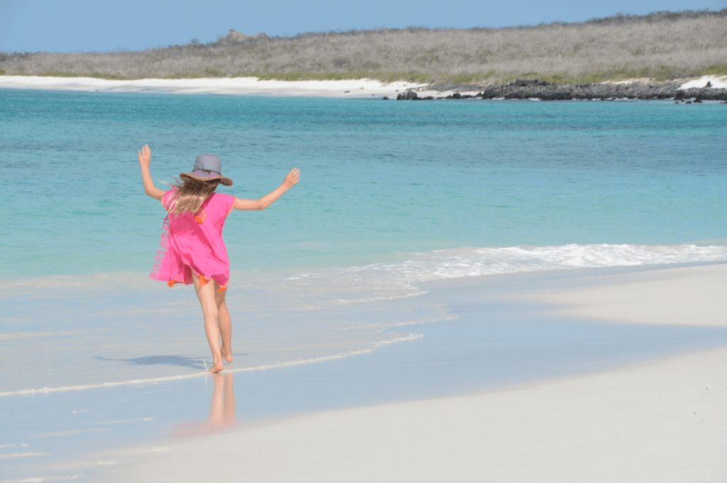 Galapagos activities: relaxing at the beach