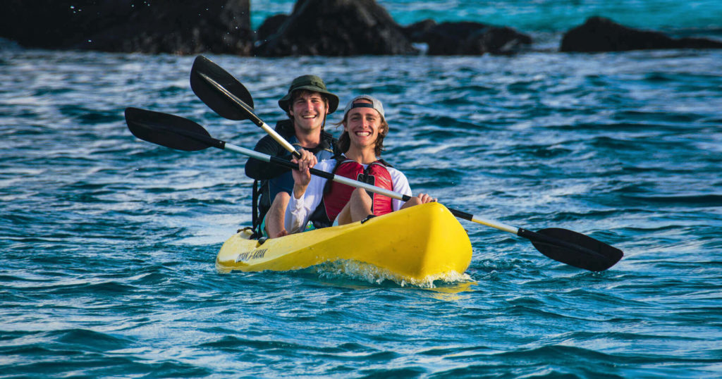 Galapagos activities: kayaking