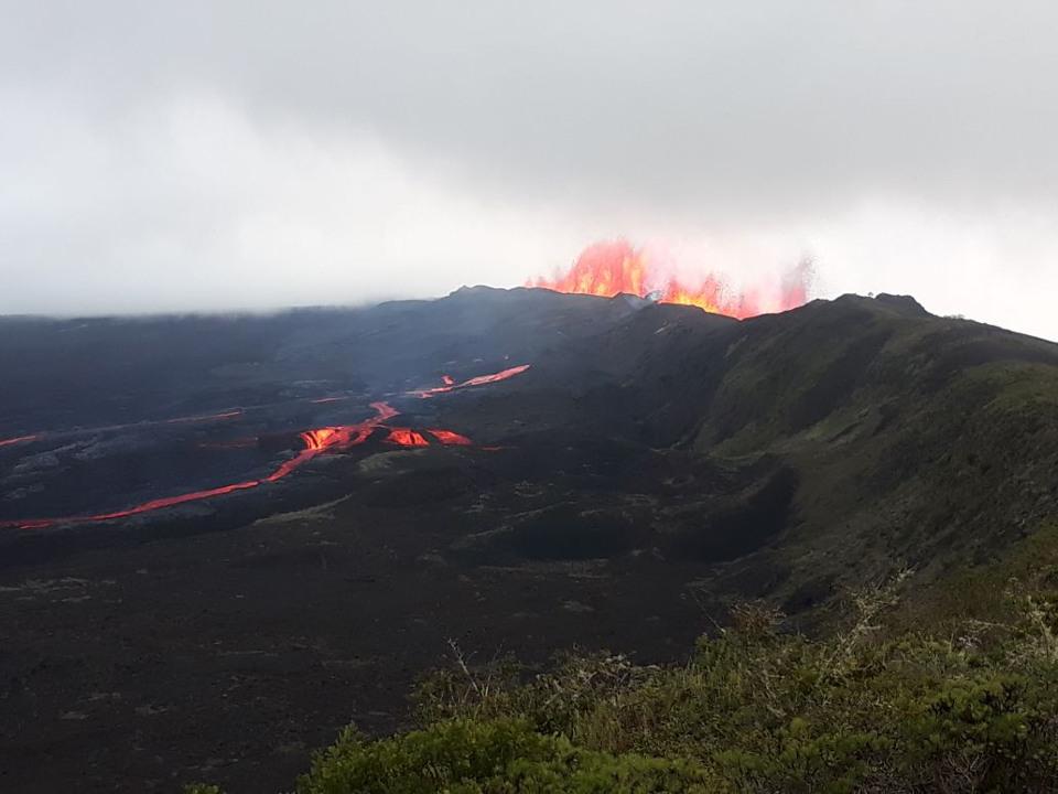 Galapagos volcanos: sierra negra