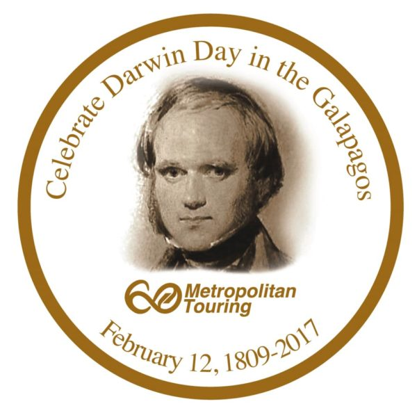Celebration of Charles Darwin Day in the Galapagos Islands.
