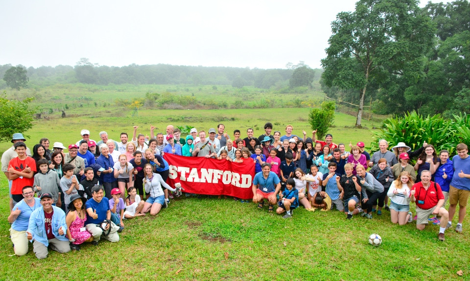 Standford University visiting Galapagos