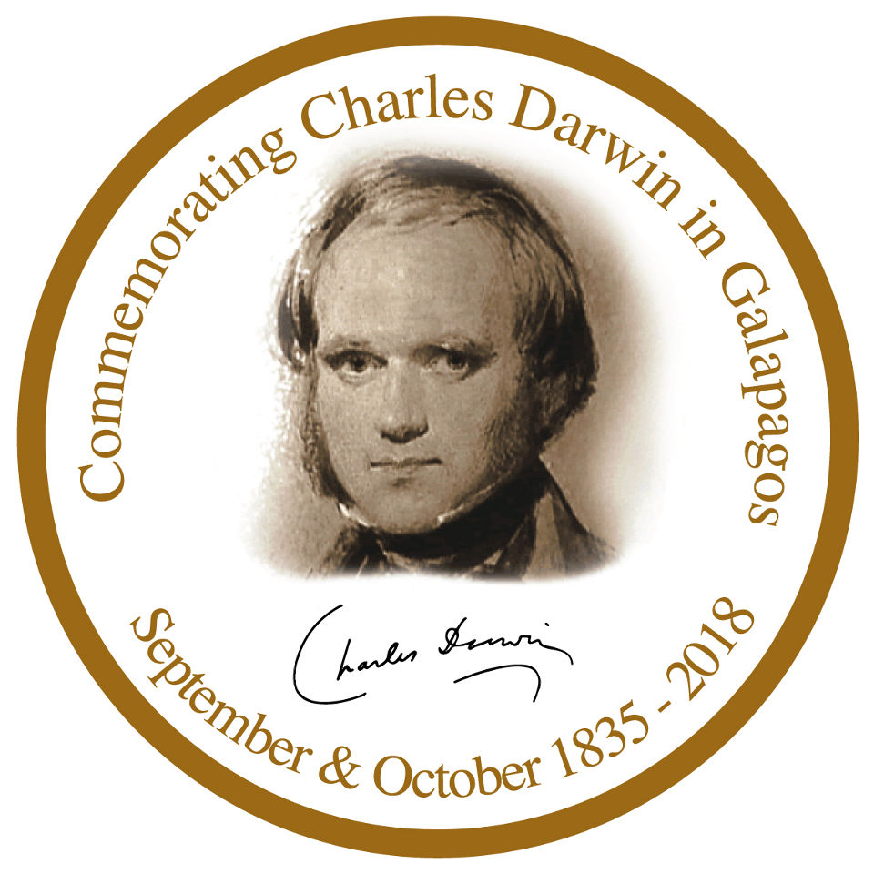 Commemorating Charles Darwin in Galapagos.