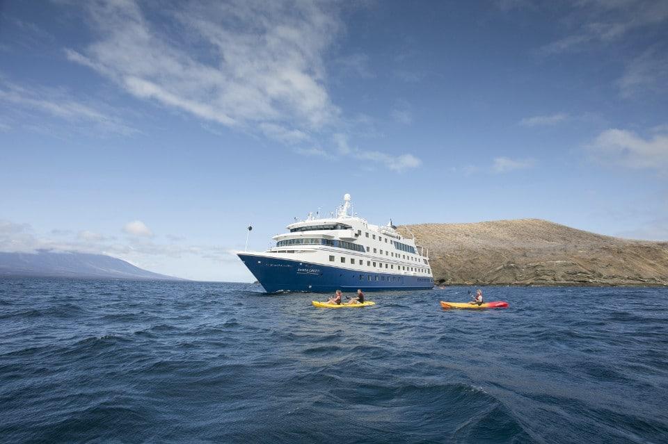 Environmentally-friendly activities aboard Santa Cruz II Expedition Vessel.