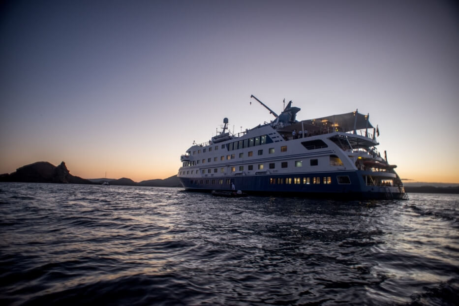 Santa Cruz II Galapagos Cruise has its own sustainable practices,