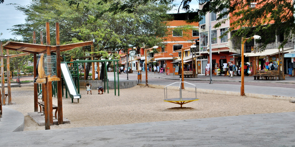 Boardwalk of Puerto Baquerizo Moreno