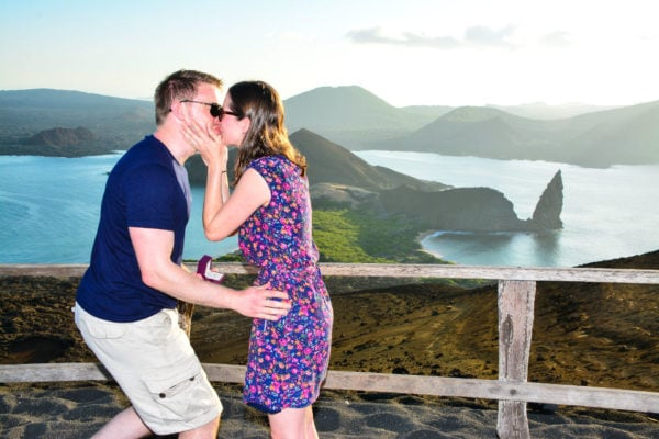 Galapagos is a romantic place for couples.