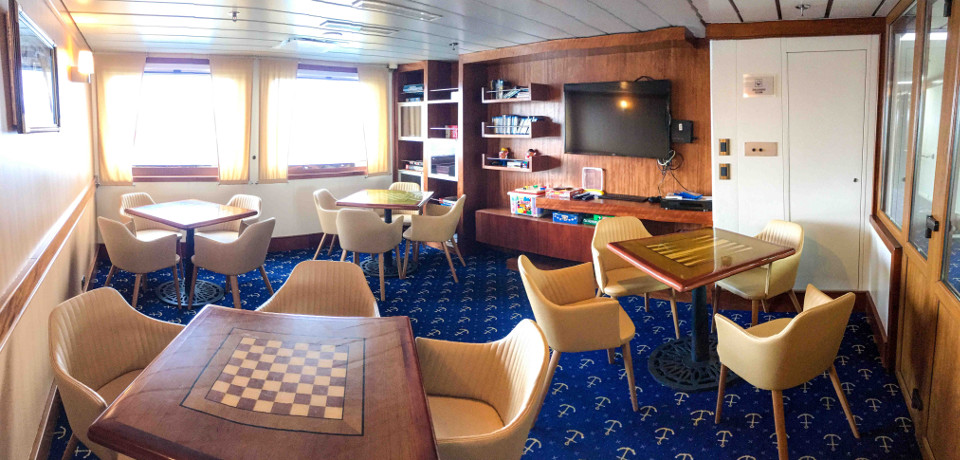 Discovery Room on Santa Cruz II