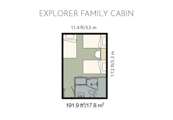 Explorer family cabin plan