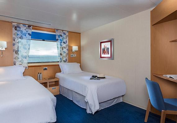 Explorer twin cabin aboard Santa Cruz II Galapagos Cruise