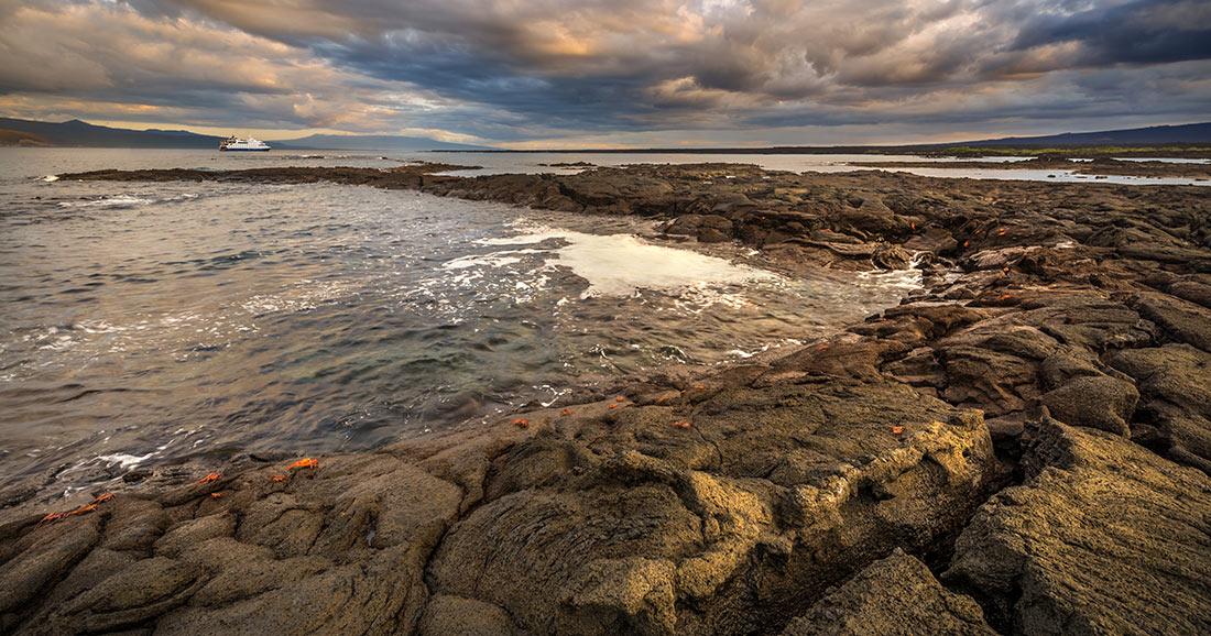 Punta Espinoza at Fernandina Island, Galapagos Islands