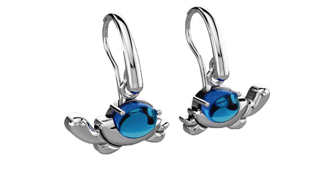 Galapagos giant tortoise earrings