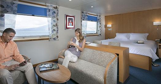 Santa Cruz II Galapagos Cruise cabin