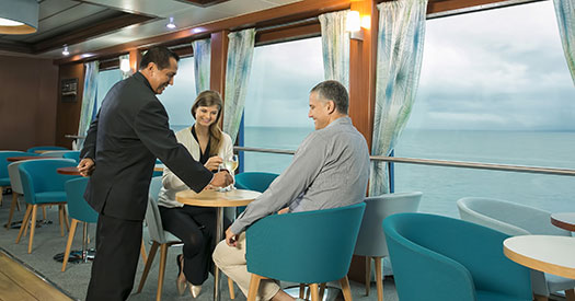 Santa Cruz II Galapagos Cruise lounge
