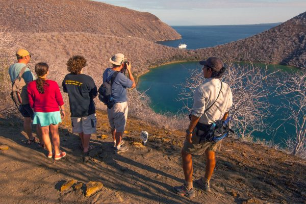 Stunning view of the Galapagos Islands<