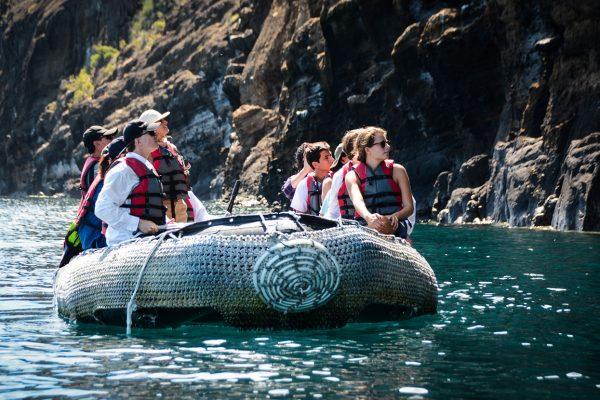 Panga ride in the Galapagos Islands